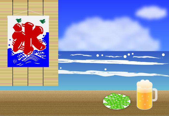 海水浴、宿泊のご案内